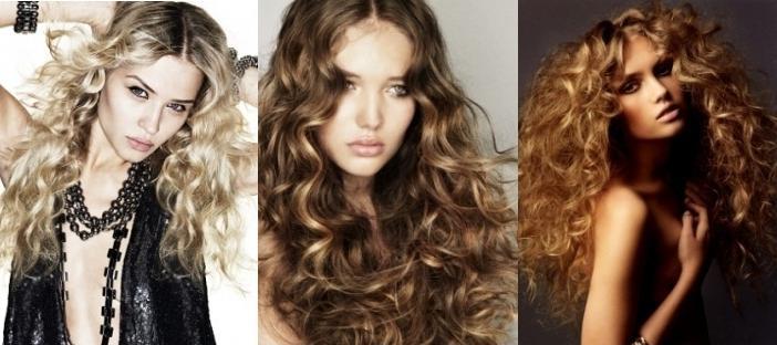 Стрижка для длинных вьющихся волос