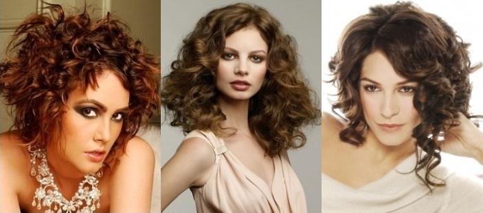 Прически для жестких вьющихся и густых волос
