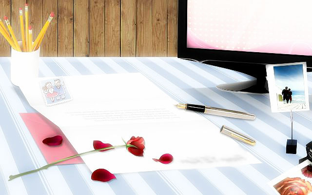Приємний лист коханому