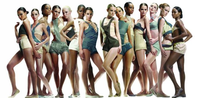 Вага і зріст моделей