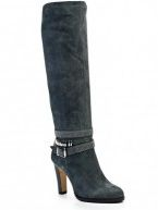 Жіночі чоботи сірого кольору