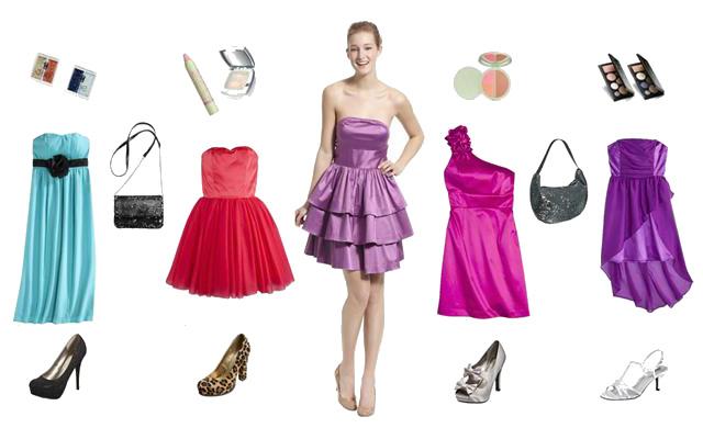 Туфлі і сукня